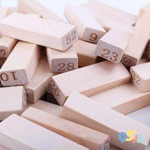 اسباب بازی چوبی جنگا