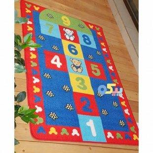 قیمت فرش اتاق کودک Confetti طرح لی لی کد SKL161