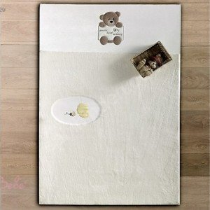 فرش اتاق کودک طرح kidboo honey bear