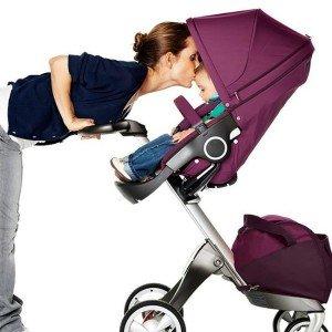 کالسکه،کریر و ساک  مادر stokke xplory purple