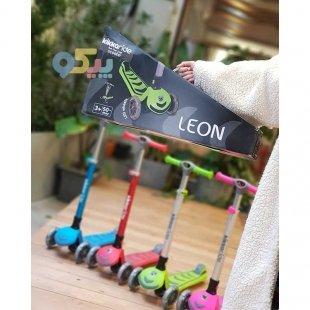 فروش اسکوتر کودک کیکابو leon رنگ صورتی کد 31006010065