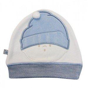 کلاه نخی آبی  caramell