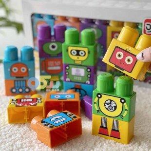 خرید آجره لگو بازی کودک جورواجورچین