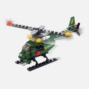 خرید لگو هلیکوپتر جنگی