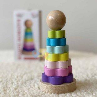 اسباب بازی چوبی حلقه هوش