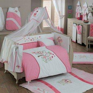 سرویس خواب ۹تکه کودک sweet home pink  kidboo