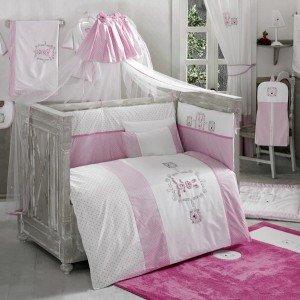 سرویس خواب ۹تکه کودک rabitto pink kidboo