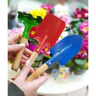 بیلچه اسباب بازی شن بازی و باغبانی
