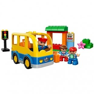 خرید لگو دوپلو اصل اتوبوس مدرسه