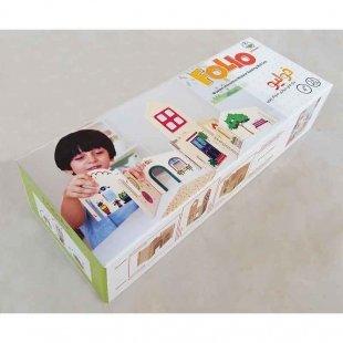 اسبابخرید اسباب بازی چوبی کودک  بازی چوبی پوپولوس مدل فولیو  Folio کد 10915