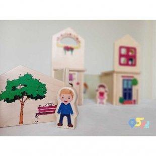 خرید اسباب بازی ساختنی چوبی