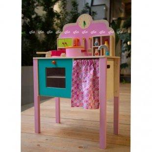 خرید آشپزخانه اسباب بازی چوبی