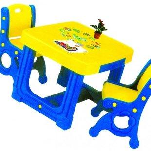 میز و صندلی تحریر/ غذا خوری 2 نفره مدل پرنسسhaenim PIC-7004
