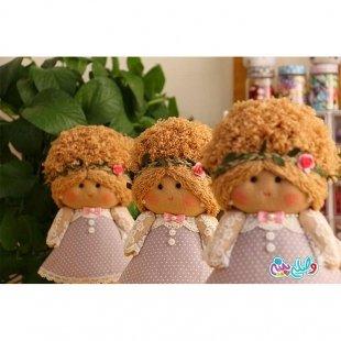 خرید عروسک دخترانه وصله پینه