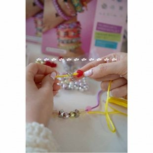 خرید اسباب بازی ساختنی دستبند دخترانه