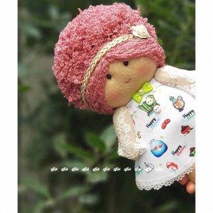 عروسک نمدی وصله پینه
