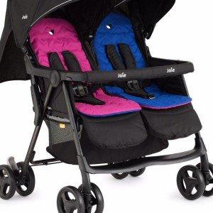 کالسکه دو قلو joie مدلmeet aire™ twin Pink & Blue