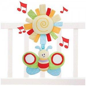 آویز موزیکال تخت کودک little bird کد 3008