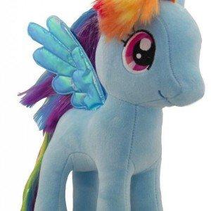 عروسک اسب پونی آبی