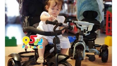 10 مهارتی که کودکان حین سه چرخه سواری یاد میگیرند