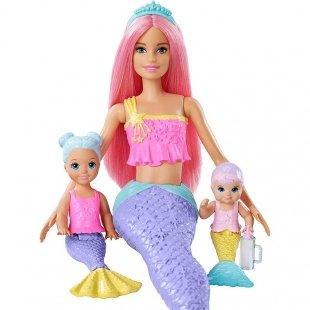 عروسک باربی با بچه
