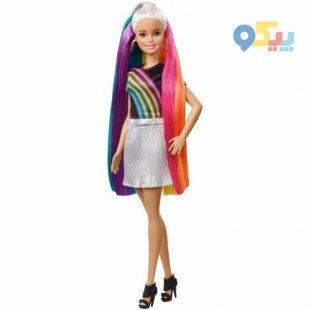 عروسک باربی رنگین کمان کد FXN96