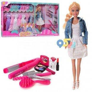 خرید عروسک باربی با لباس اضافه