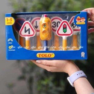 خرید اسباب بازی علائم راهنمایی رانندگی