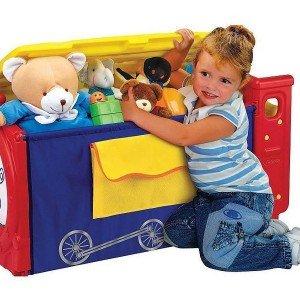 باکس بزرگ اسباب بازی کودک با جاکتابی crayola  کد5037