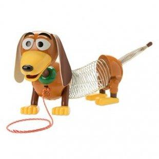 خرید اسباب بازی سگ اسلینکی توی استوری