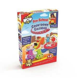 wow toys countdown calendar-pre-school کد 4242