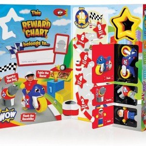 wow toys reward chart -racer کد 4259