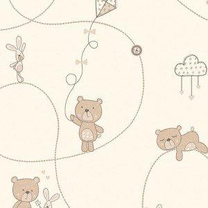 کاغذ دیواری انگلیسی اتاق کودک - کاروسل Dl21100