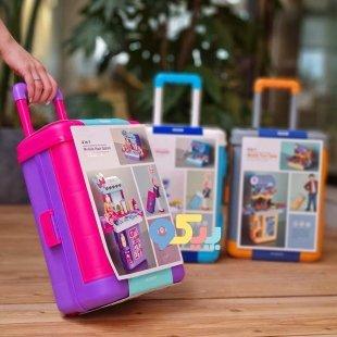 خرید اسباب بازی میز آرایشی چمدانی