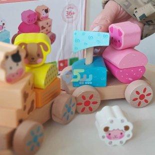 خرید اسباب بازی قطار چوبی