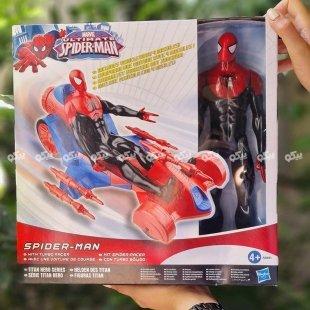 خرید عروسک مرد عنکبوتی با ماشین