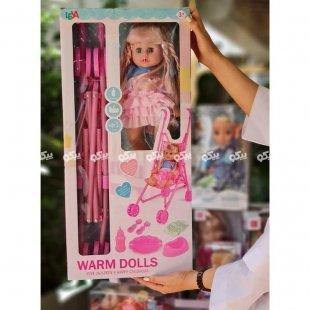 خرید عروسک با کالسکه