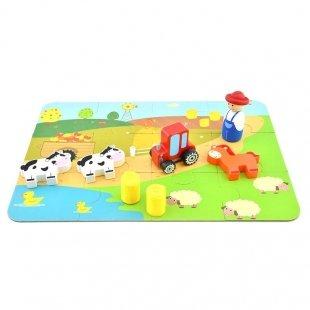 قیمت ست بازی مزرعه چوبی پیکاردو با کیف فلزی