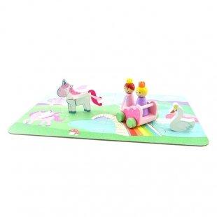 خرید اسباب بازی دخترانه یونیکورن و پرنسس