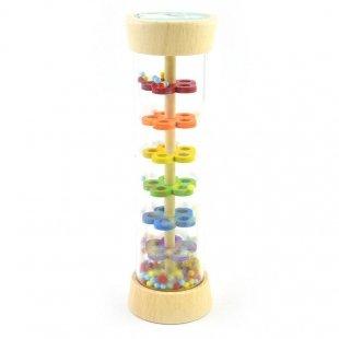 خرید اسباب بازی چوبی پیکاردو جغجغه استوانه ای