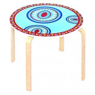 خرید میز تحریر چوبی کودک طرحدار