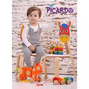 خرید صندلی کودک چوبی