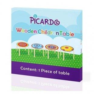خرید میز چوبی کودک طرحدار پیکاردو