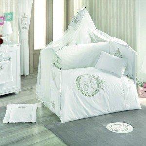 سرویس خواب ۹ تکه کودک royal white kidboo