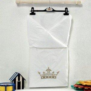 پتو دو کاره kidbooمدل royal white
