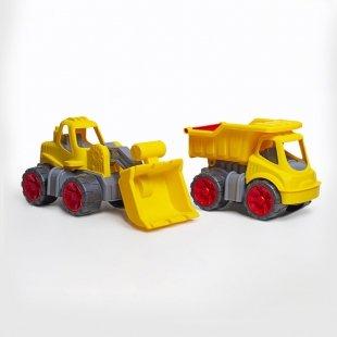 ماشین لودر  زرد بزرگ کد 88525