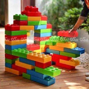 بلوک خانه سازی کودک 20 عددی مدل 1975