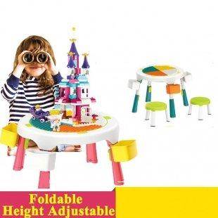 میز کودک لگو بازی
