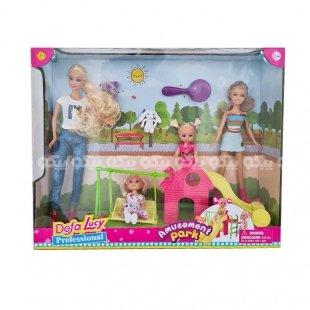 عروسک باربی دفا با ست پارک بازی کد 8409
