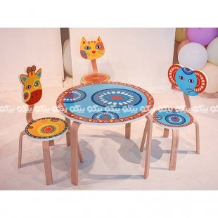 صندلی چوبی پیکاردو